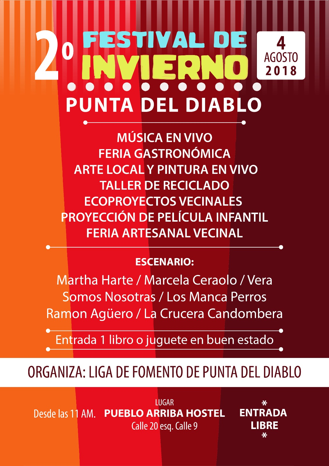 2º Festival de Invierno - Punta del Diablo